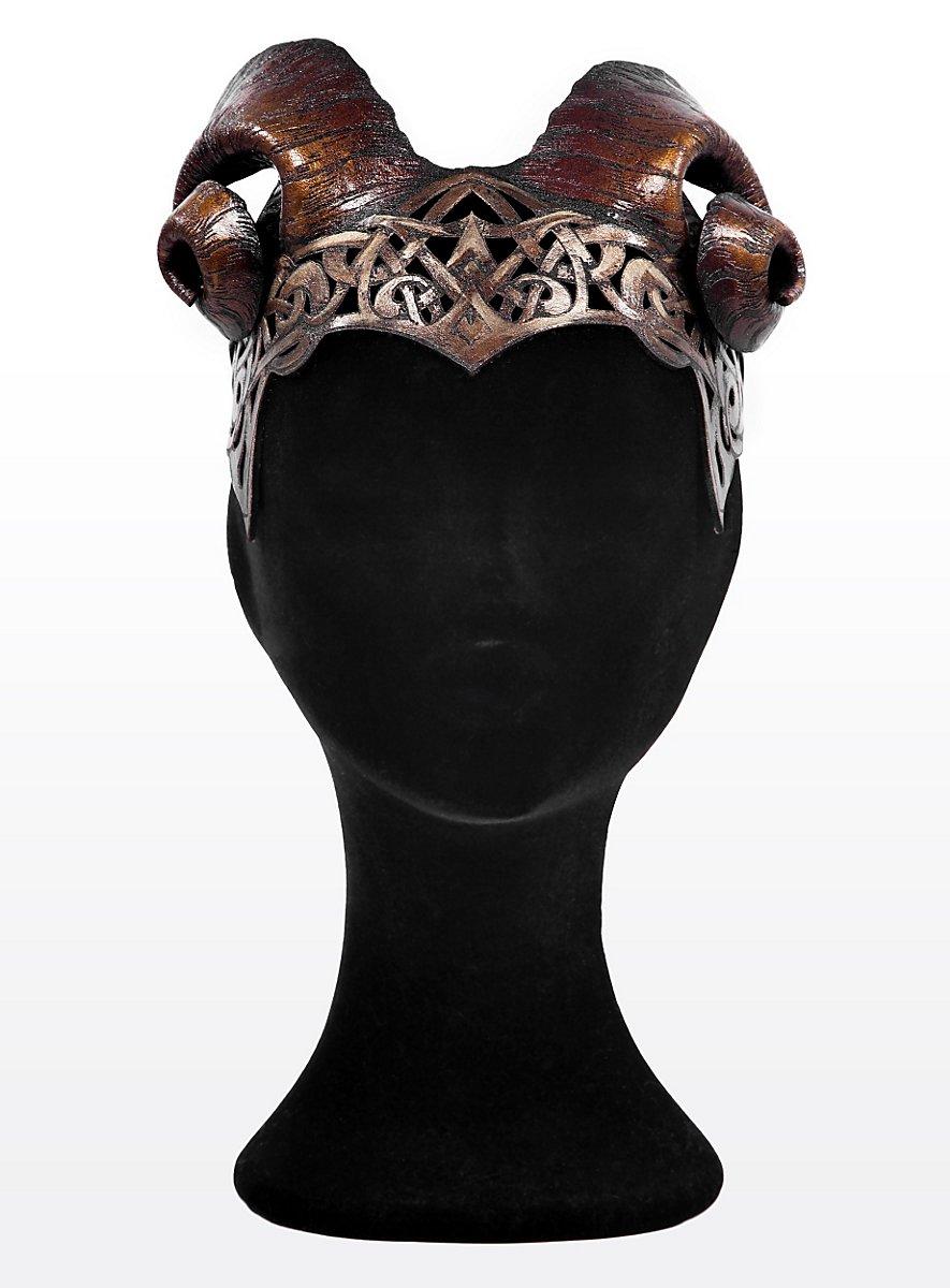Holly King Circlet Made Of Leather Maskworld Com