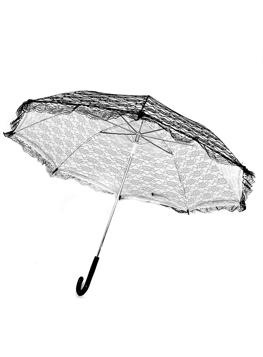 how to make a lace parasol