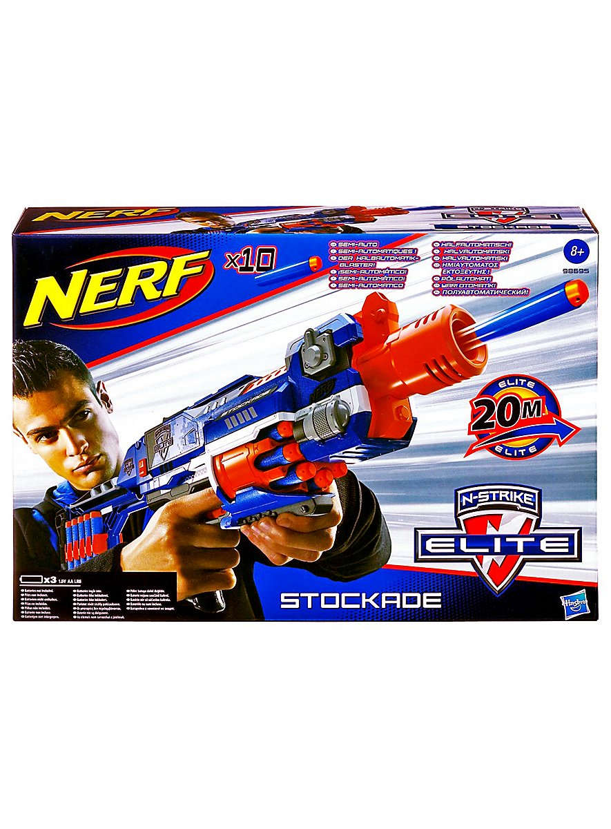 Darts For Sale >> NERF N-Strike ELITE Stockade - maskworld.com