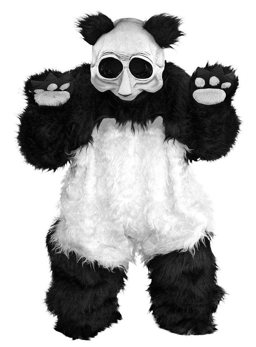 Panda Kostm Gruselige Pandabr Verkleidung