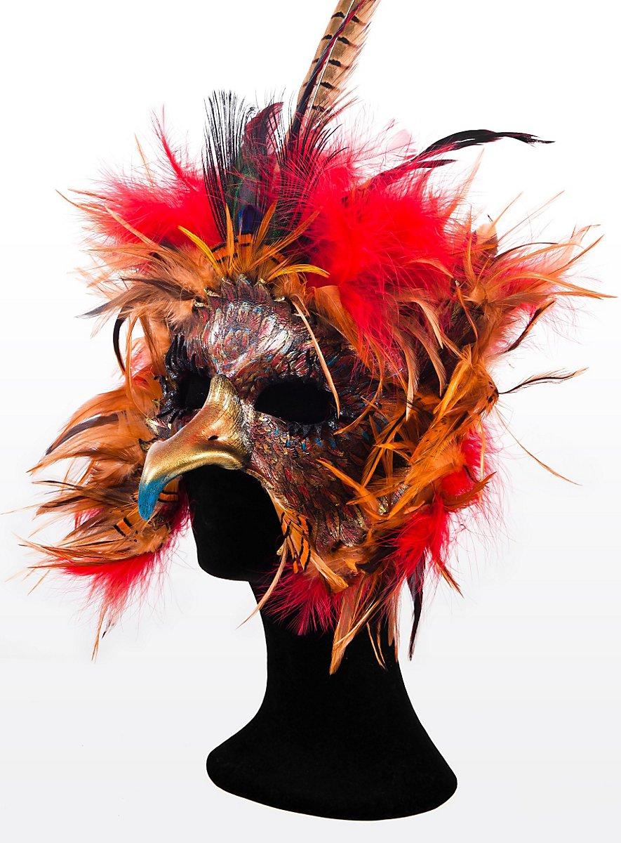 Phoenix Leather Eye Mask Maskworld Com