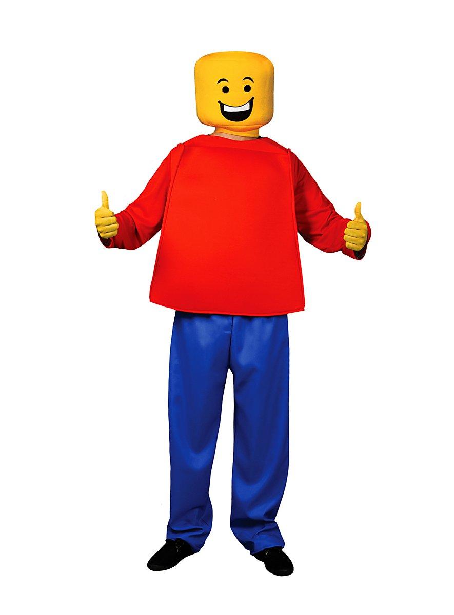 how to make a lego figure costume