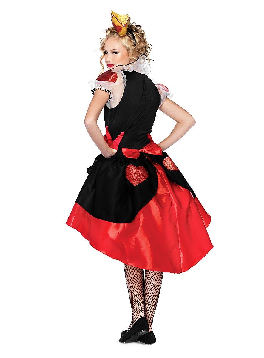 Posh Queen Of Hearts Teen Costume Maskworld Com
