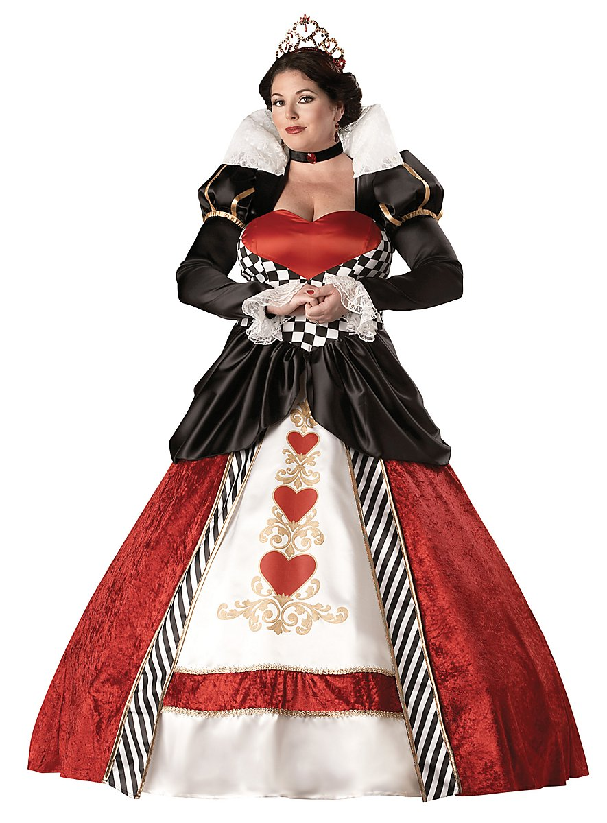 Queen Of Hearts Deluxe Costume Maskworld Com