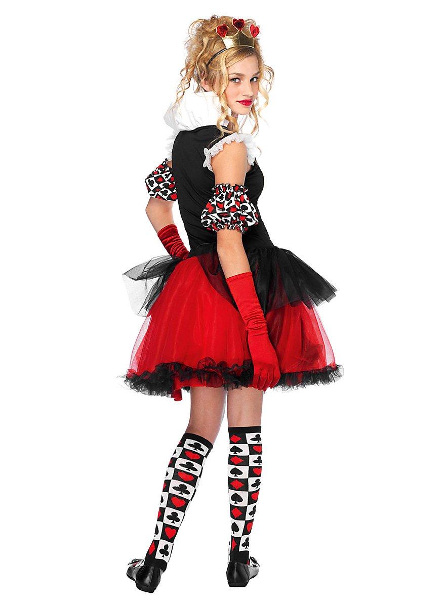 Queen Of Hearts Teen Costume Maskworld Com