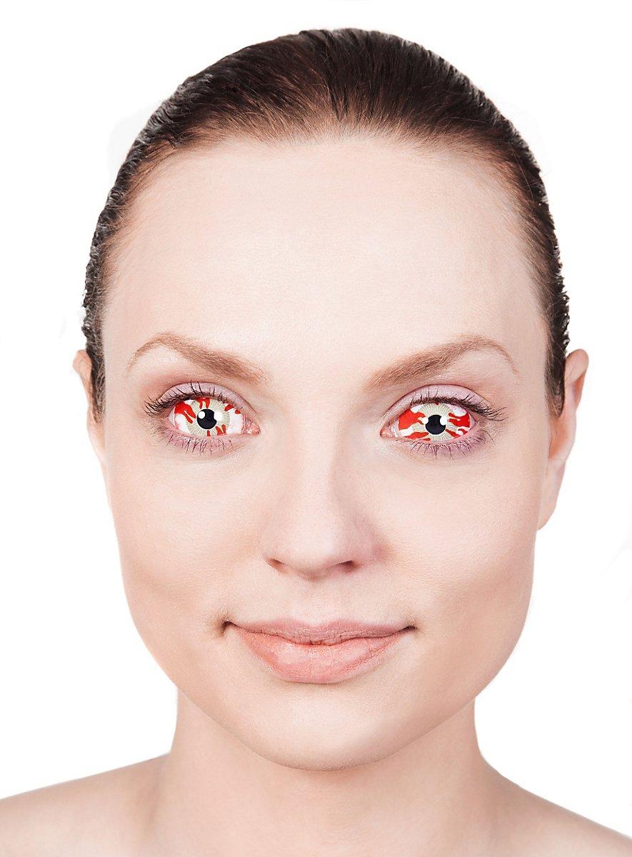 Sclera Radioactive Contact Lenses Maskworld Com