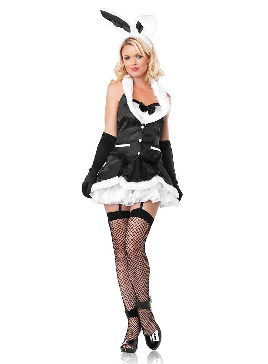 Sexy Butler Bunny Costume - maskworld.com