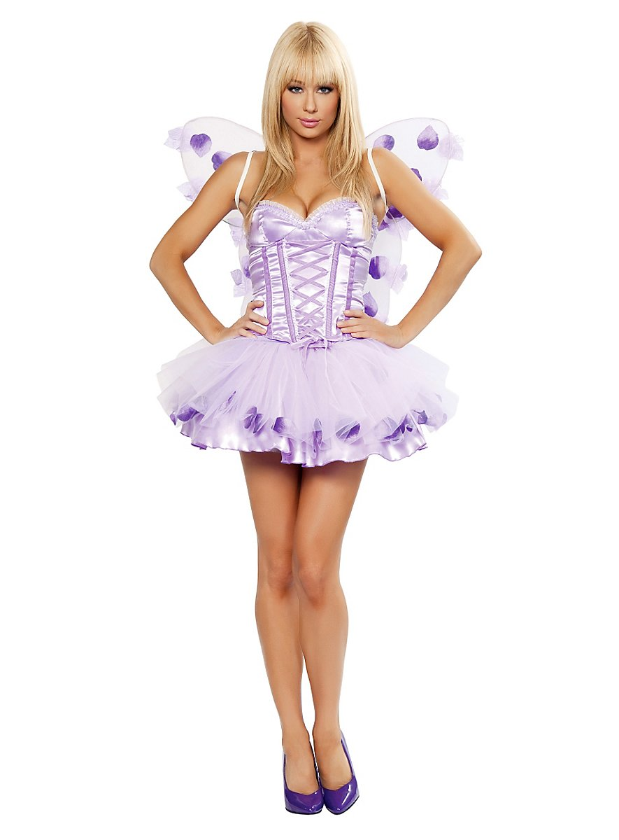 Sexy Fairy purple Costume