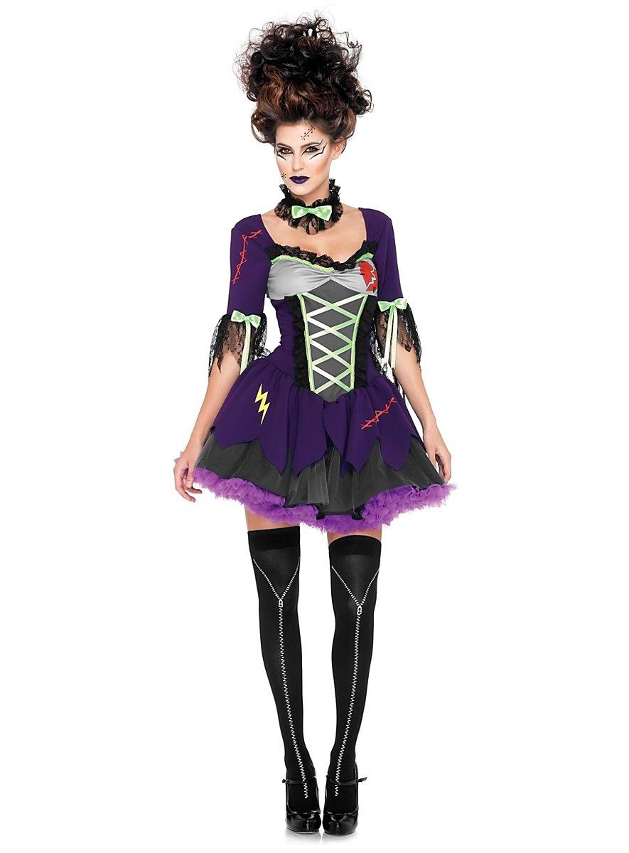 Sexy Miss Frankenstein Kostüm - maskworld.com