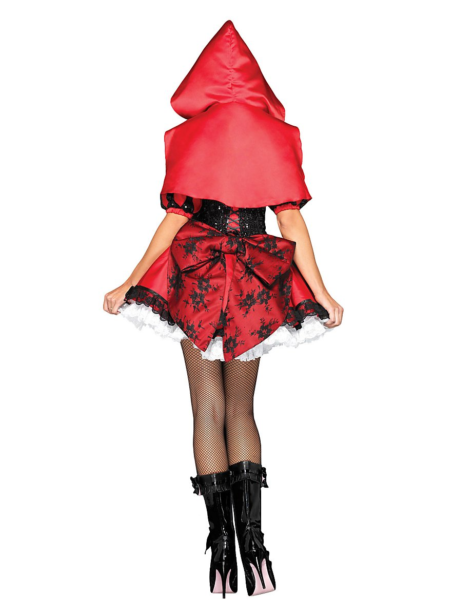 how to make red riding hood costume