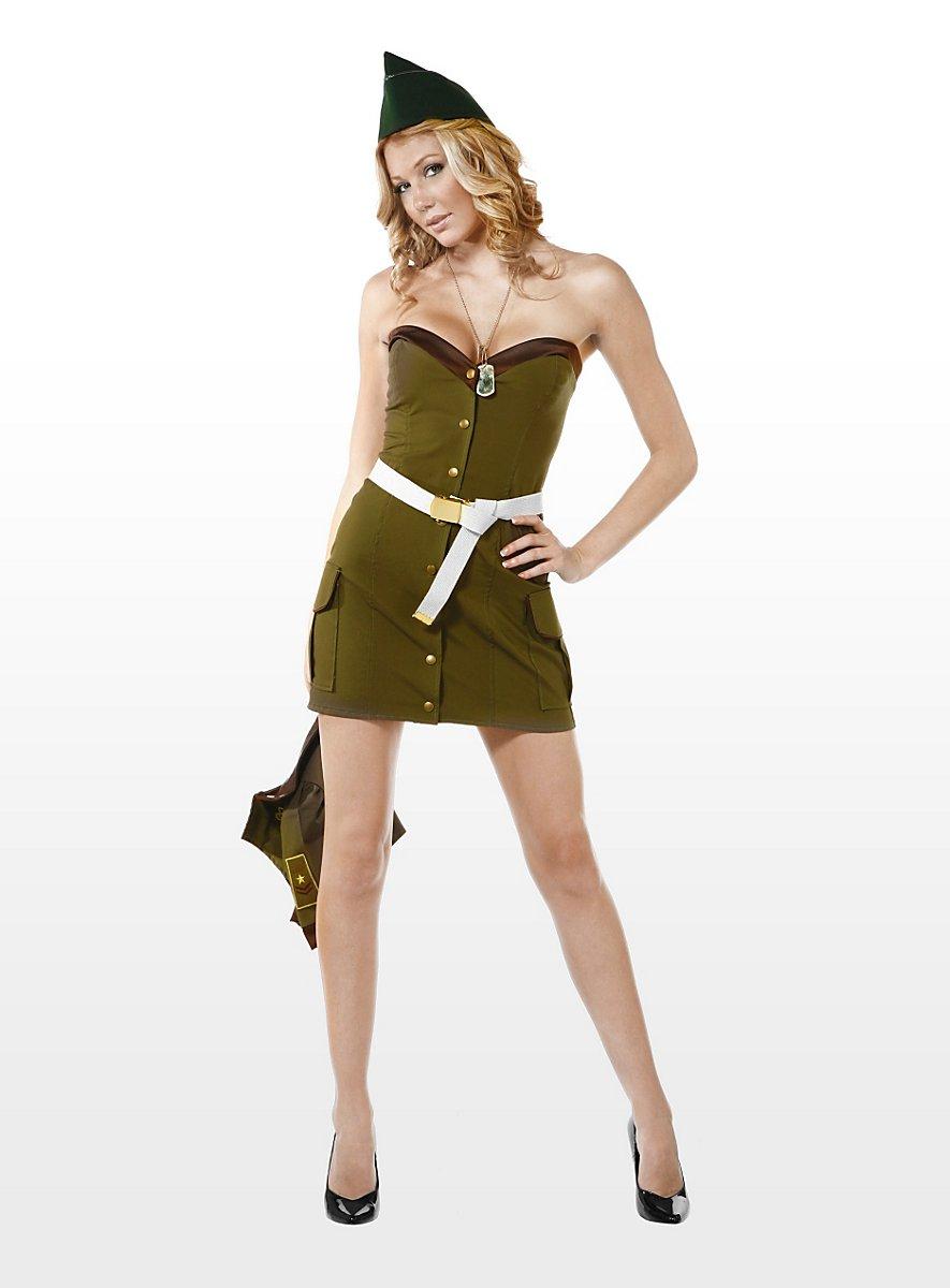 Sexy marine corps costume