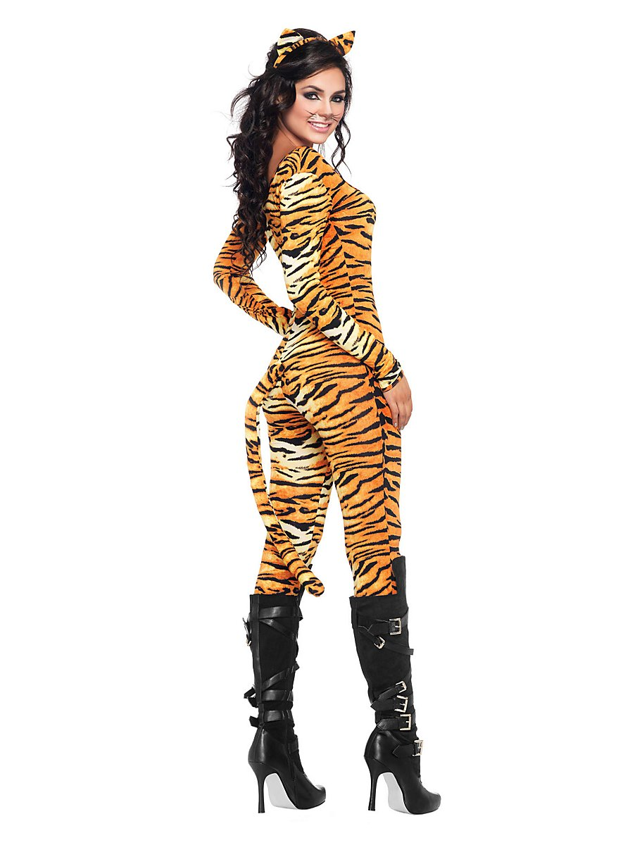 Sexy Tiger Suit Costume - maskworld.com