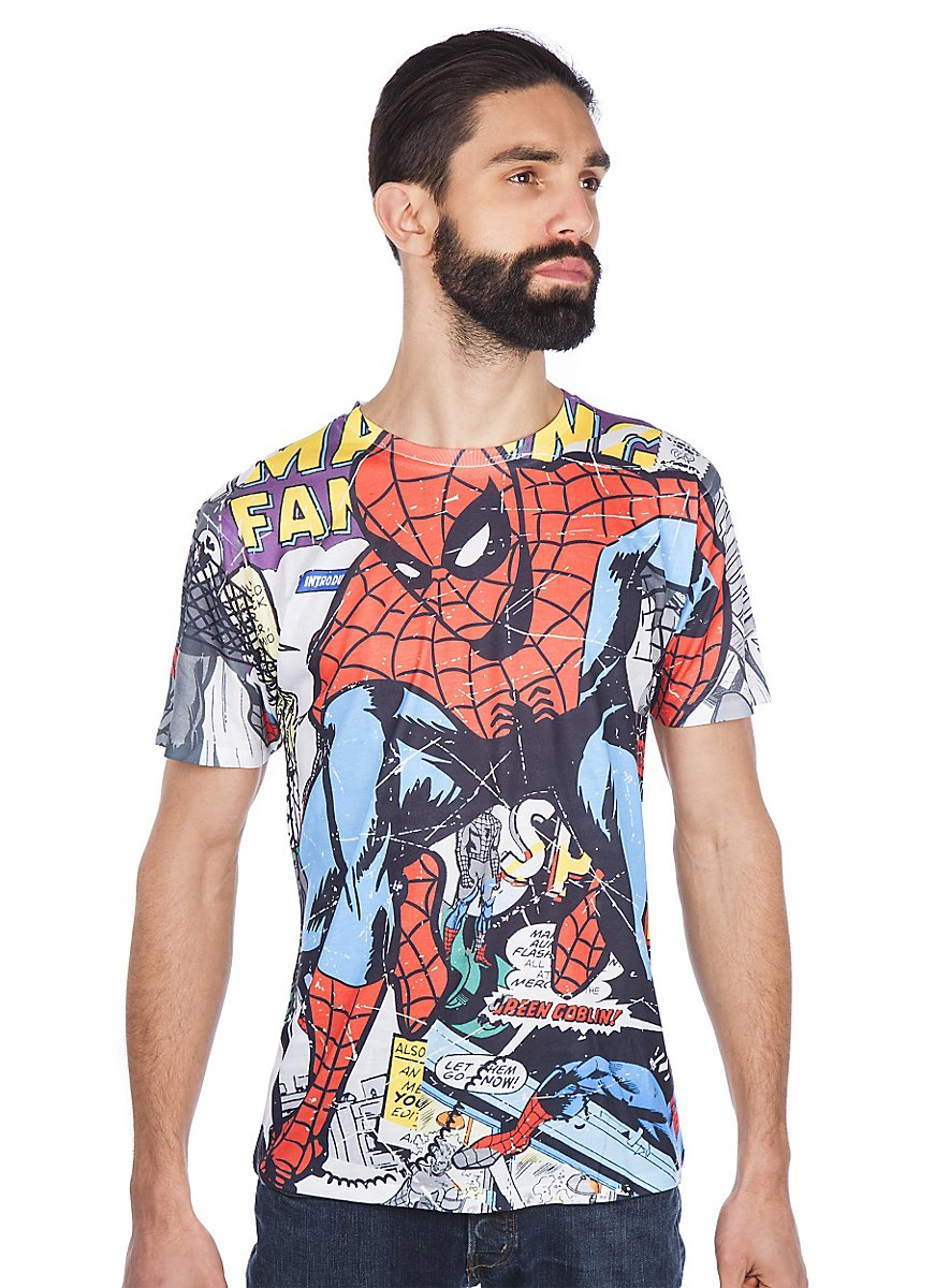 spider man t shirt superhelden shirt jetzt bestellen. Black Bedroom Furniture Sets. Home Design Ideas