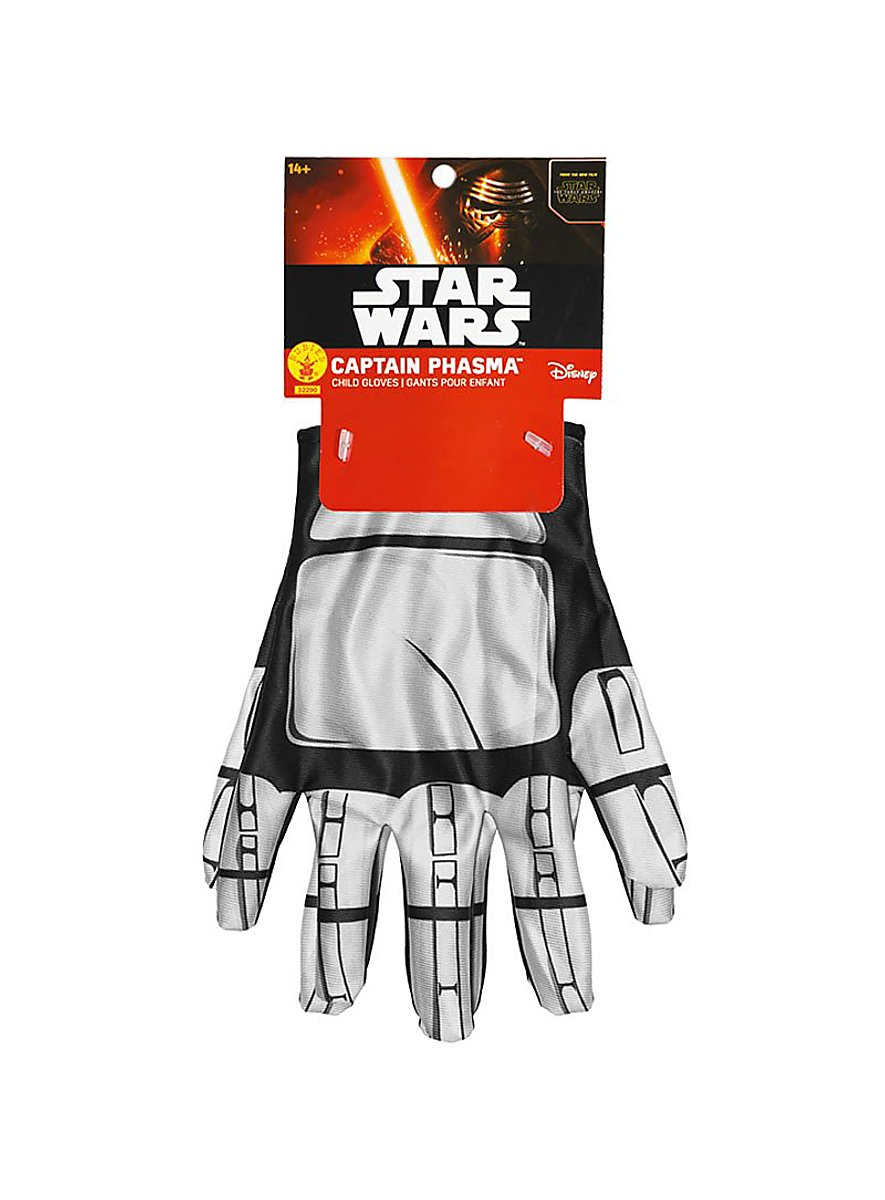 star wars 7 captain phasma handschuhe f r kinder. Black Bedroom Furniture Sets. Home Design Ideas