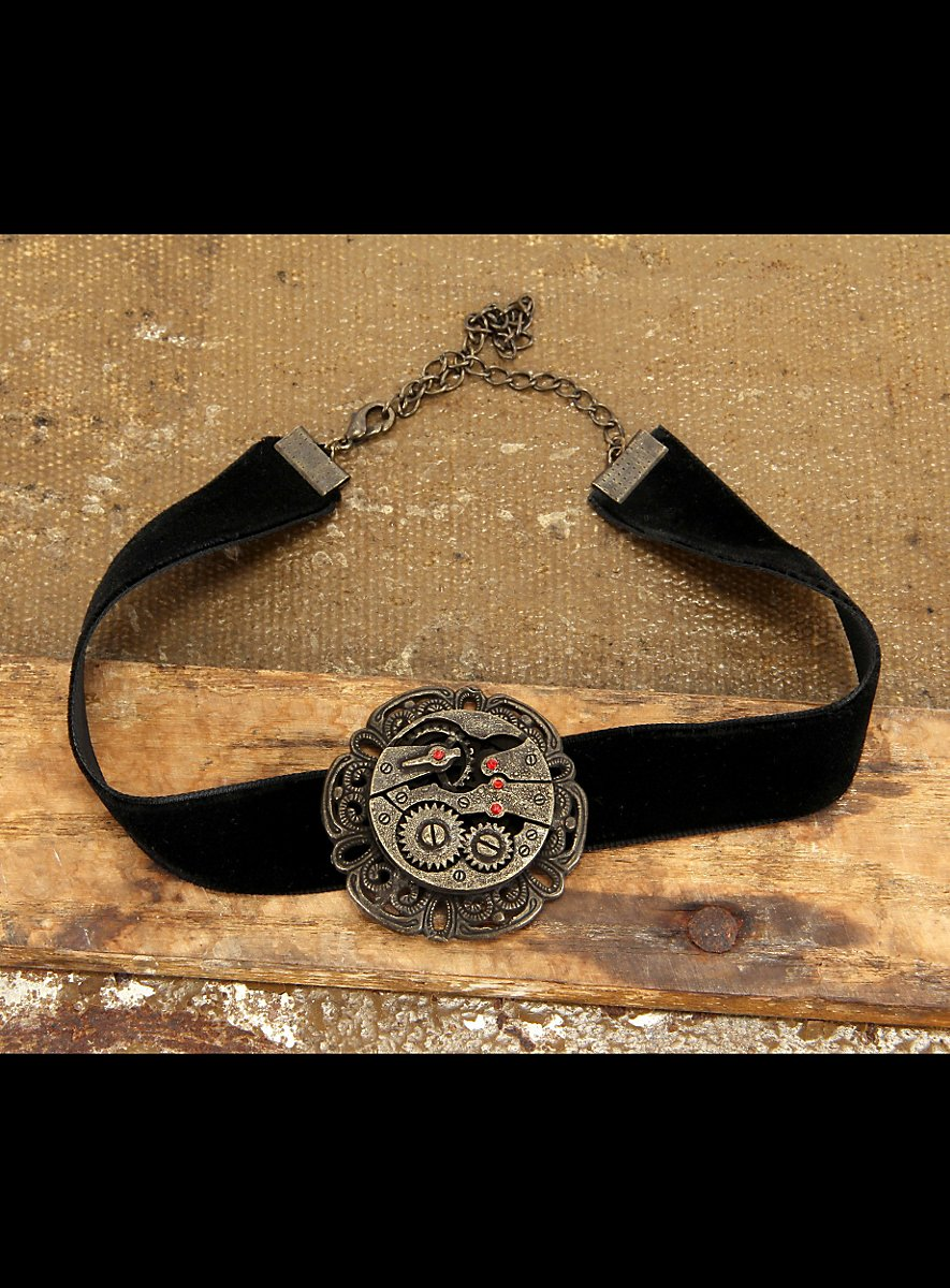 Ring In The Steampunk Decor To Pimp Up Your Home: Steampunk Choker