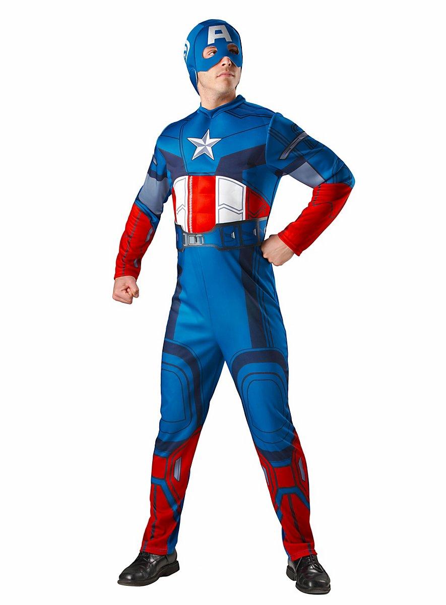 the avengers captain america kost m. Black Bedroom Furniture Sets. Home Design Ideas