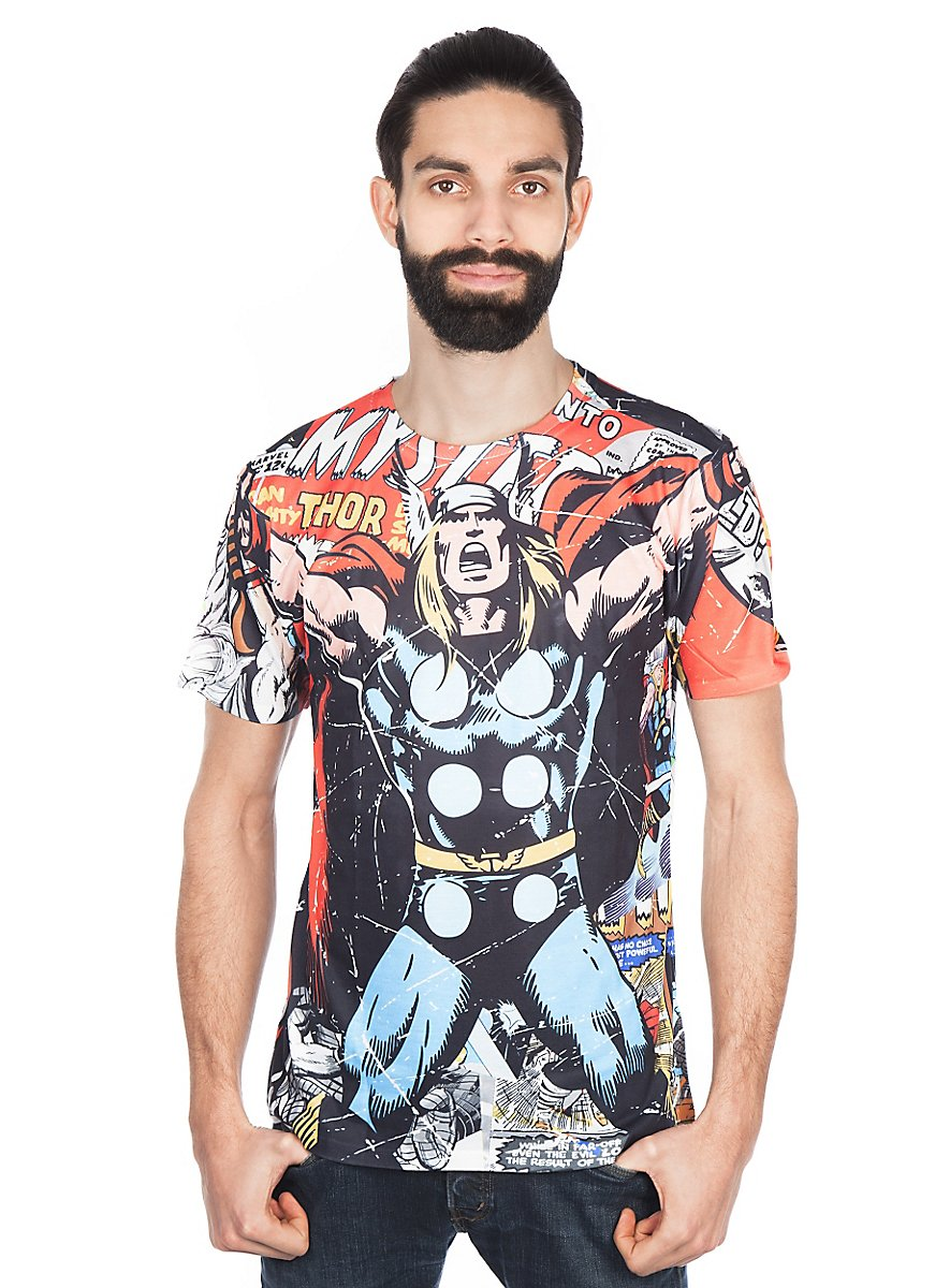 thor t shirt superhelden shirt jetzt bestellen. Black Bedroom Furniture Sets. Home Design Ideas