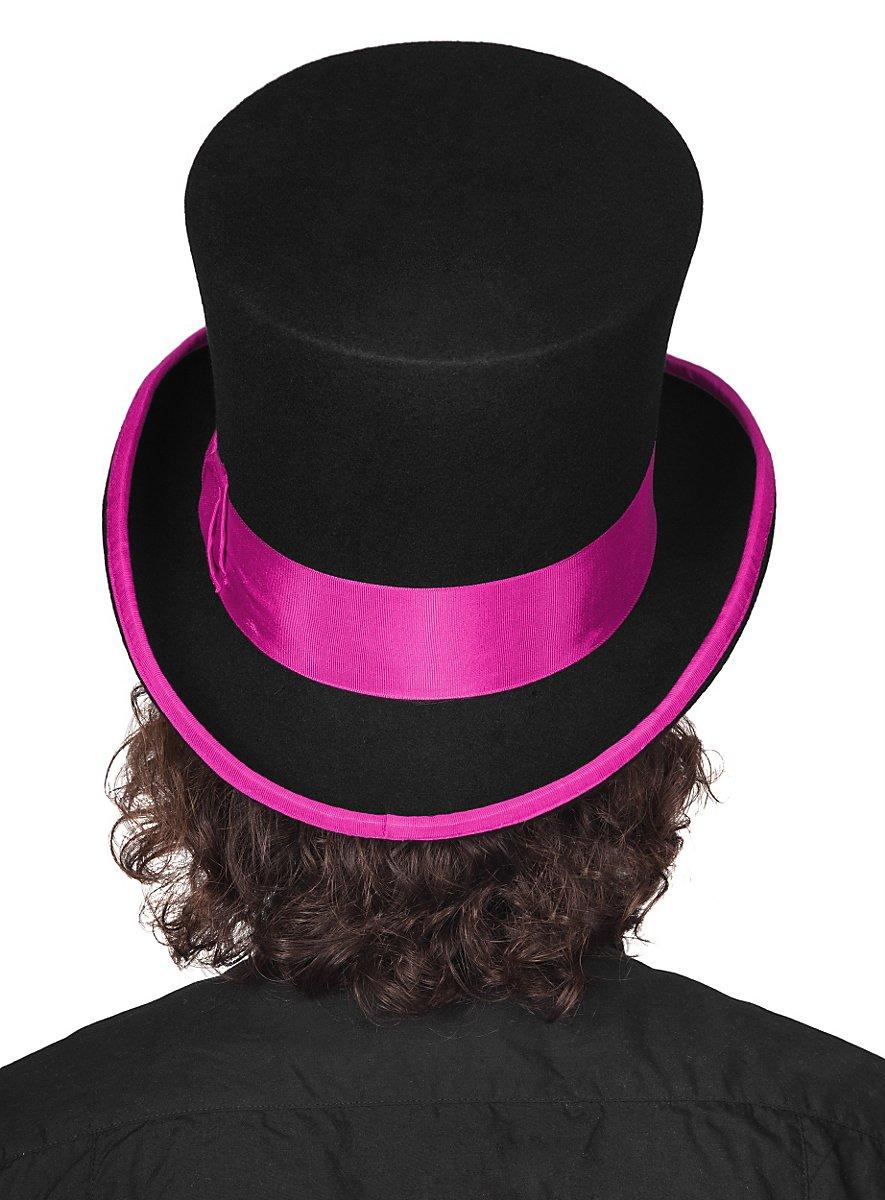 Top Hat Black Purple Maskworld Com