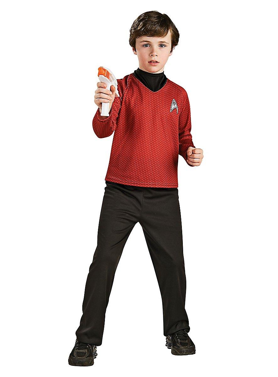 uniforme rouge star trek enfant. Black Bedroom Furniture Sets. Home Design Ideas