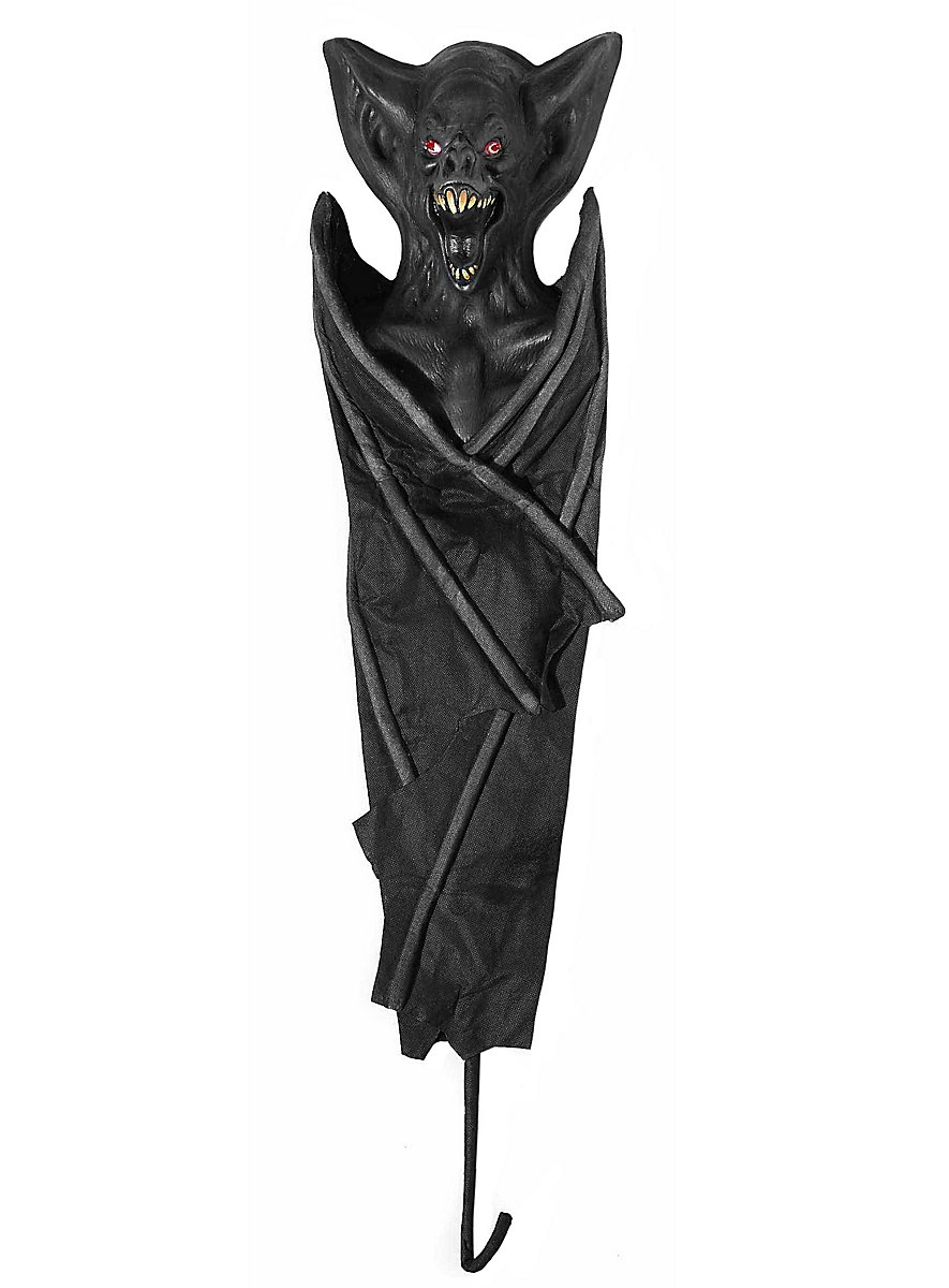 Vampire bat animated halloween decoration for Animated halloween decoration