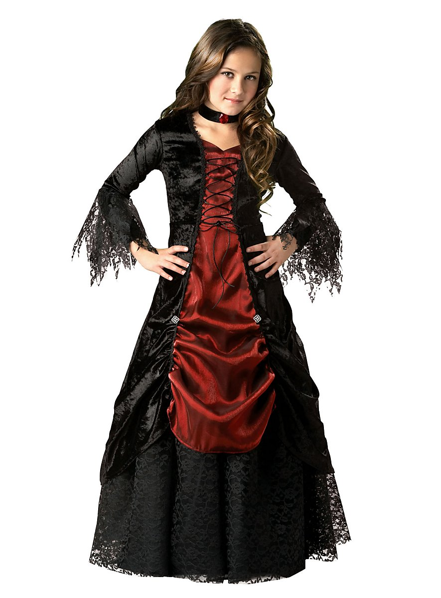 Vampire Girl Child Costume - maskworld.com