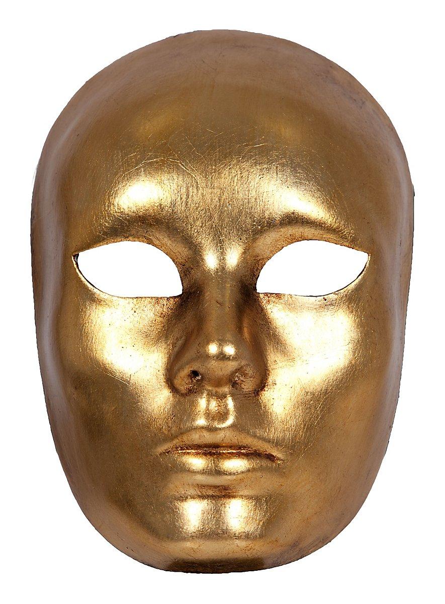 Volto Oro Femminile Venetian Mask Maskworld Com