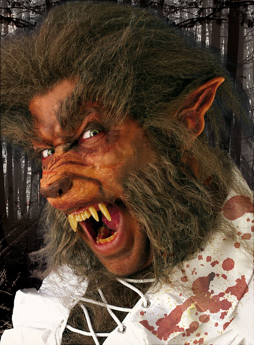 Werewolf Deluxe Mask Kit Maskworld Com