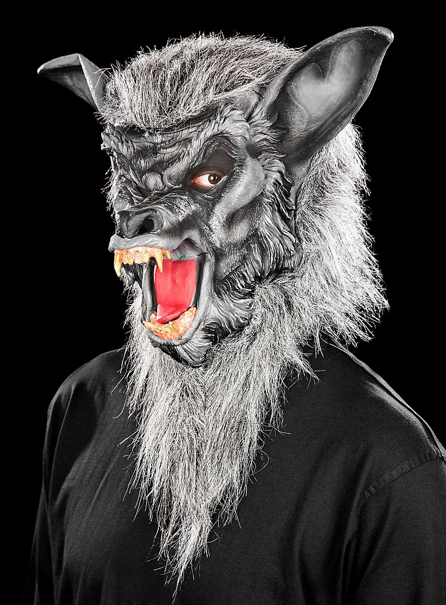 Werewolf Grey Mask Maskworld Com