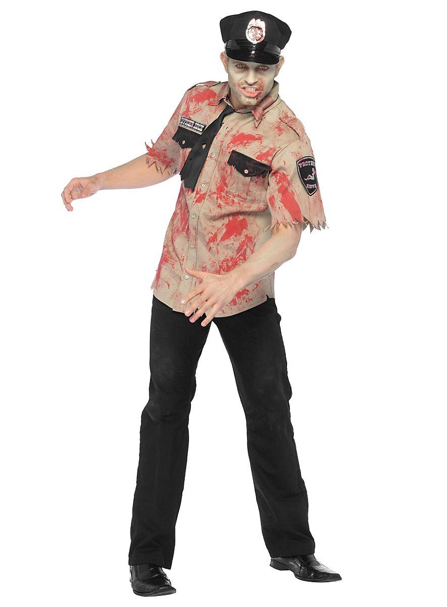 Sexy zombie cop