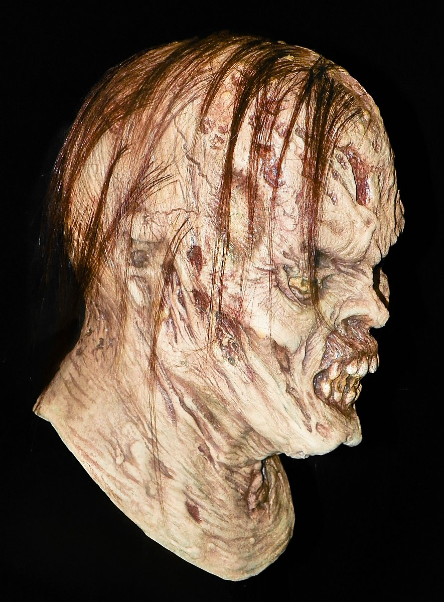 Zombie From Hell Latex Full Mask Maskworld Com