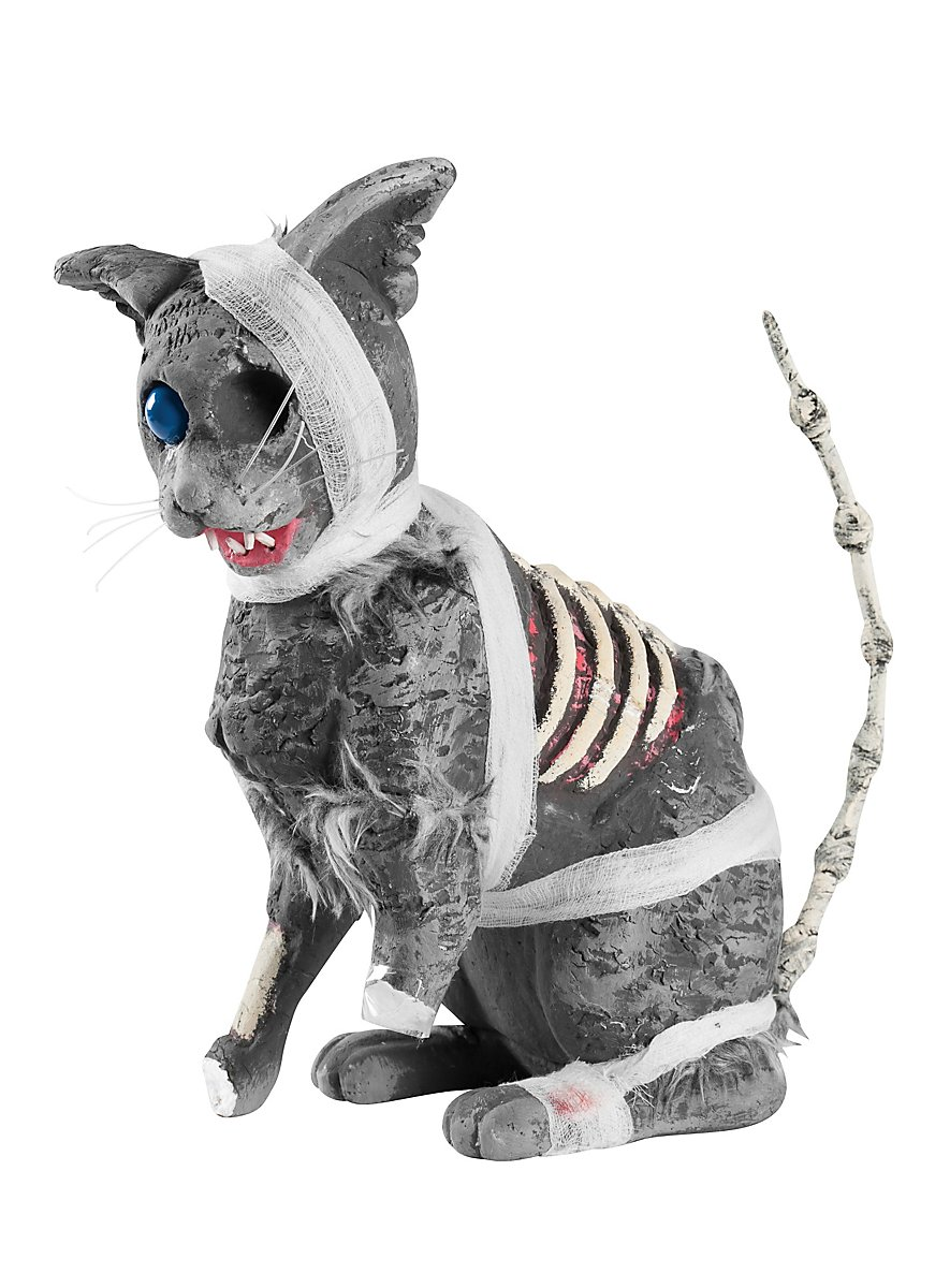 Zombiekatze halloween dekoration for Dekoration halloween