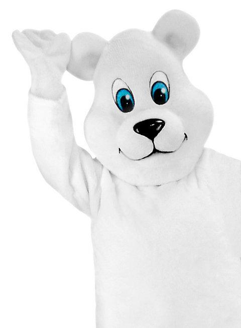 Cartoon Eisbär Maskottchen