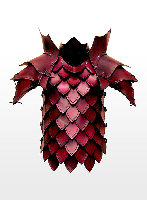 Dragon Slayer Leather Armour red