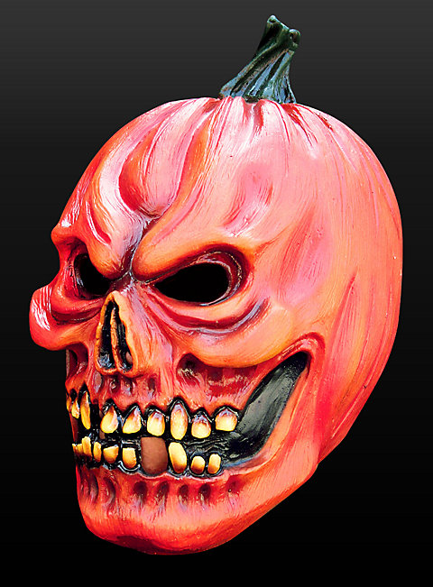 Evil Halloween Pumpkin Mask