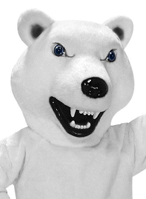 Fieser Eisbär Maskottchen