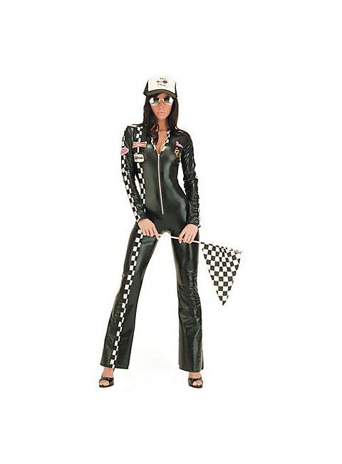 Long Sleeve Zip Up Cat Suit costume