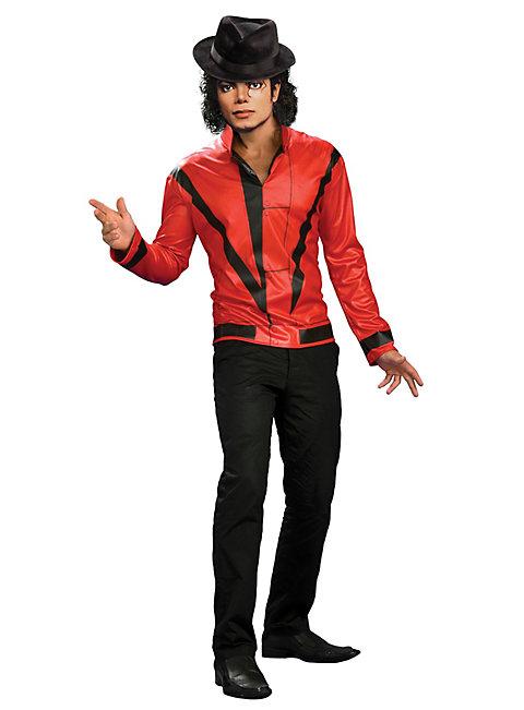Original Michael Jackson Thriller Jacket rot