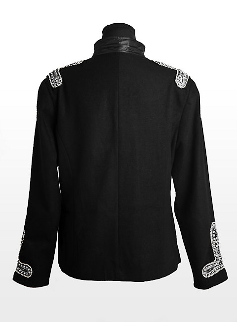 Sequined Ladies Uniform Jacket black