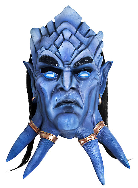 World of Warcraft Draenei Maske aus Latex