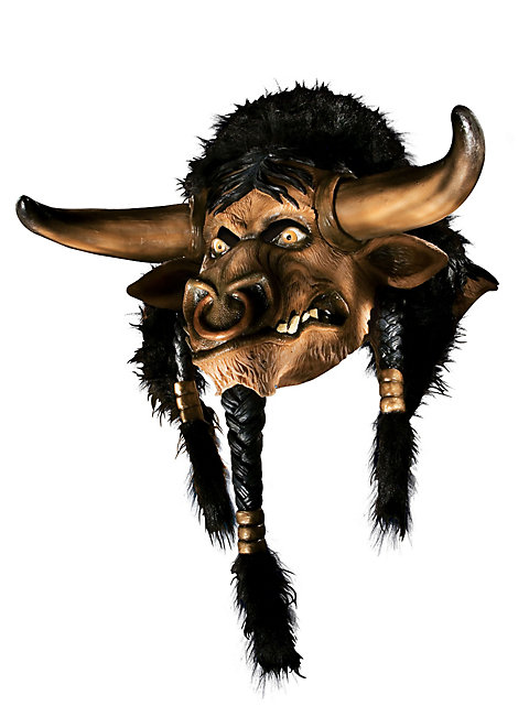 World of Warcraft Tauren Maske aus Latex