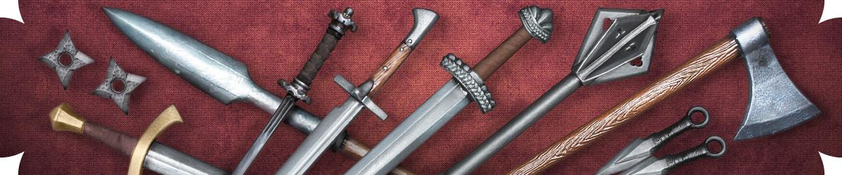 Polsterwaffen für Live-Rollenspiel - Hol dir deine Larp Waffe!