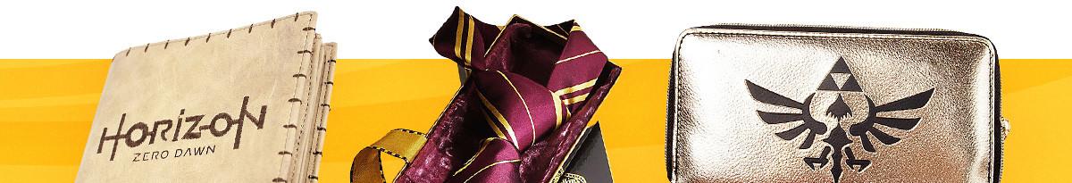 Coole Geldbörsen, Schals, Krawatten & mehr