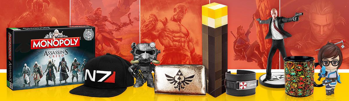Gaming Merchandise & Geek Fanartikel, Games und Nerd Culture Geschenke