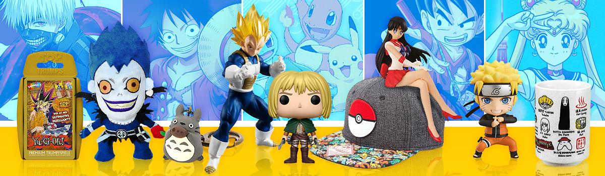Manga Merchandise & Anime Fanartikel