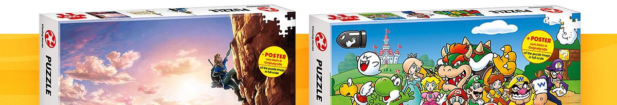 Cooles Poster Puzzles zu deinen Lieblingsmarken.