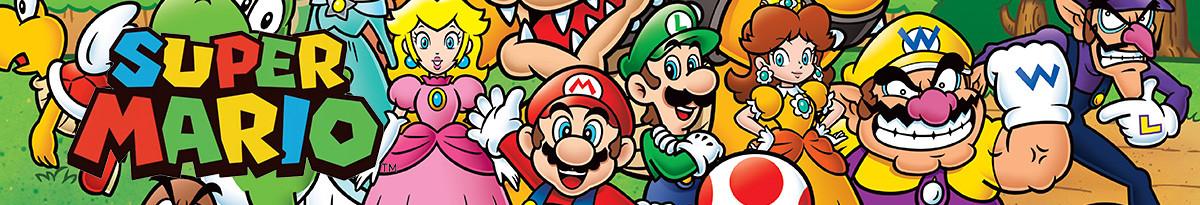 Super Mario Merchandise & Super Mario Fanartikel