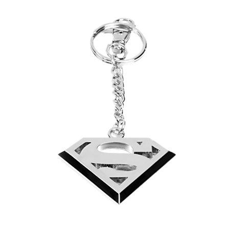 Schlüsselanhänger Superman Logo DC Comics Keyring mit karabiner 4 x 6,5 cm