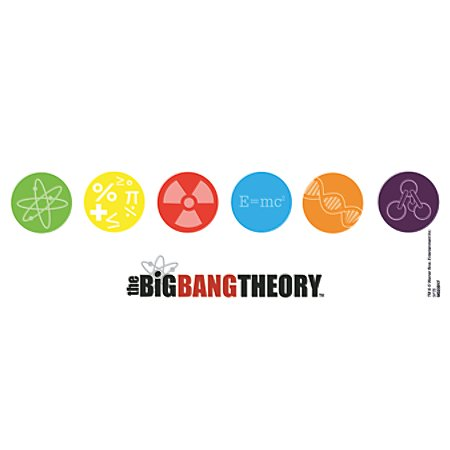 The Big Bang Theory Tasse Symbole Superepiccom