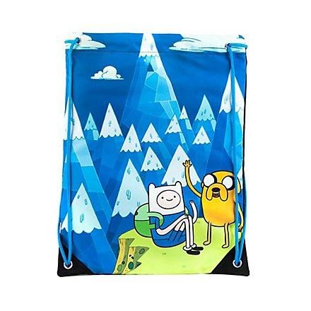 Adventure Time - Blue Mountain Jake & Finn Gym Bag