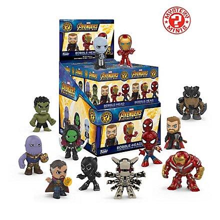 Avengers - Avengers Infinity War Mystery Mini Blind Box Wackelkopf Figuren